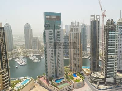استوديو  للايجار في دبي مارينا، دبي - Marina View Studio w/ Balcony in Botanica