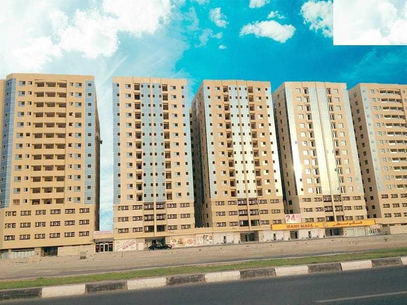 CHEAPEST DEAL. . !! SPECIOUS ONE BEDROOM HALL IN GARDEN CITY TOWER AJMAN