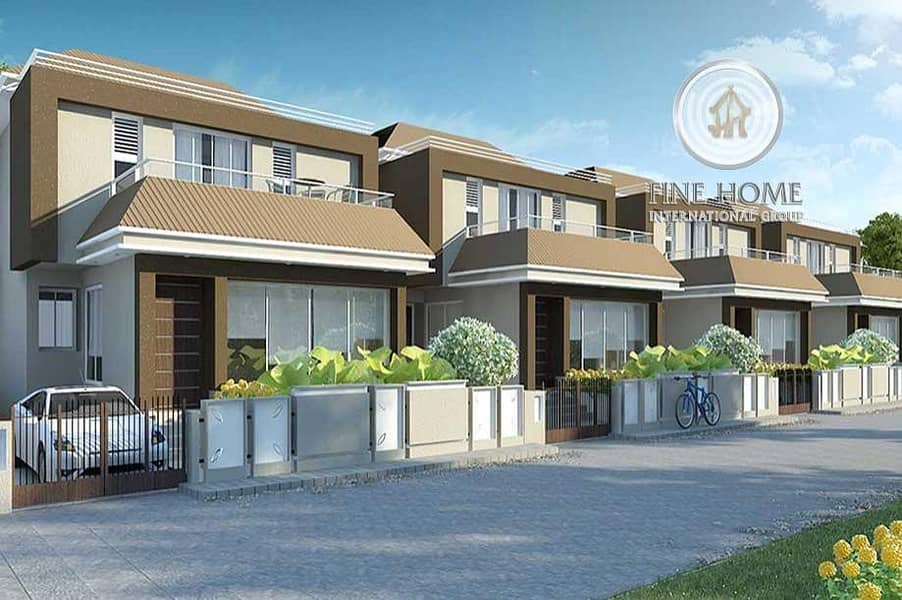 Amazing 4 Villas Compound in Shakhbout city