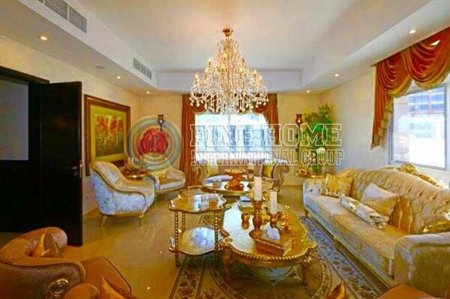 2 Nice Furniture Villa in Al Forsan Village