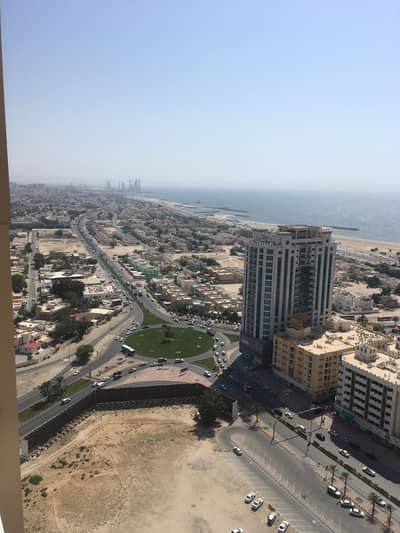 1 Bedroom Flat for Sale in Al Sawan, Ajman - 1 bhk biggest size partial sea view in Ajman one tower