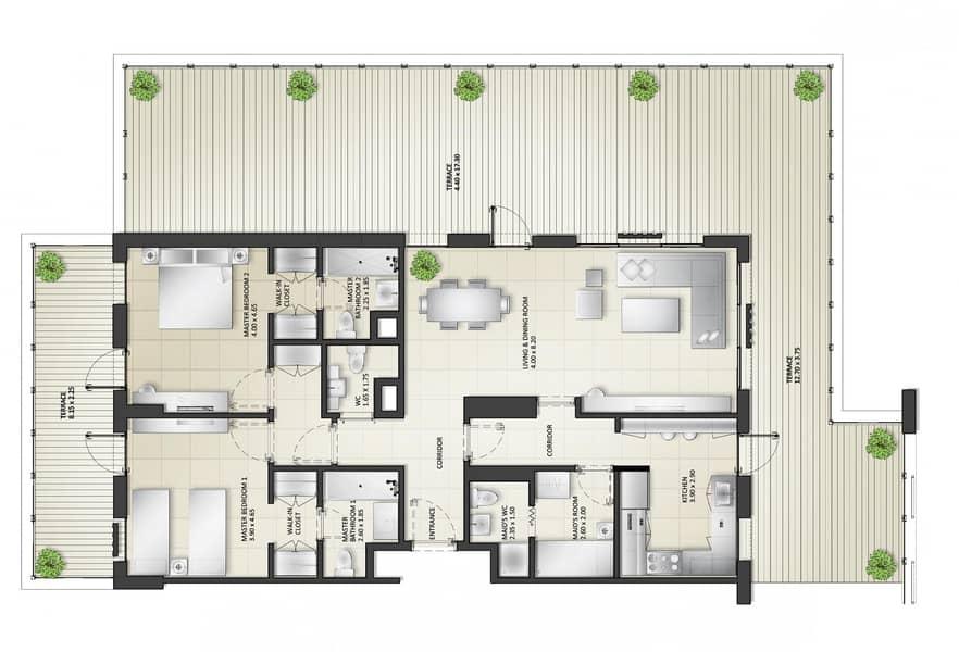 9 Spacious 2 bedroom 1st Car-Free Community Sharjah