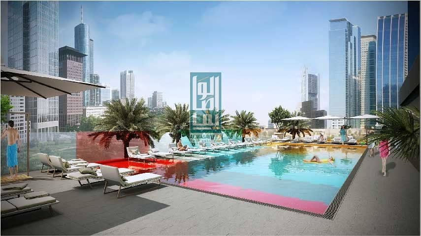 2 000AED  and own  1BR at JLT