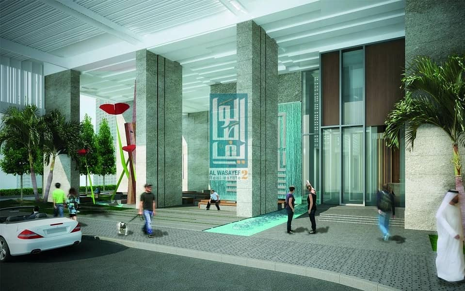 12 000AED  and own  1BR at JLT