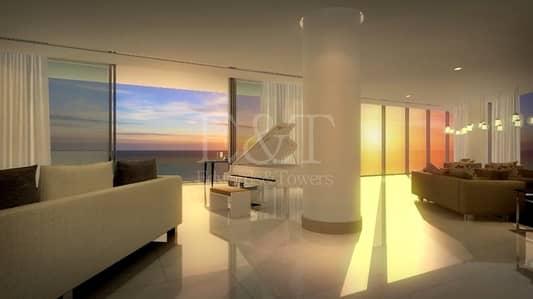 4 Bedroom Apartment for Sale in Saadiyat Island, Abu Dhabi - Luxury High End 4BR P/ Sea View Saadyiat