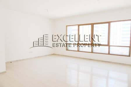 فلیٹ 3 غرفة نوم للايجار في منطقة النادي السياحي، أبوظبي - Spacious 3 Bedroom Flat with Maids Room