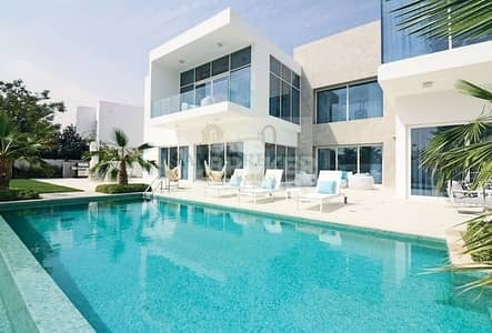 فیلا 4 غرفة نوم للبيع في البراري، دبي - 4 BR FRONT LUXURY MODERN HUGE VILLA. PLOT 13900 sqft.