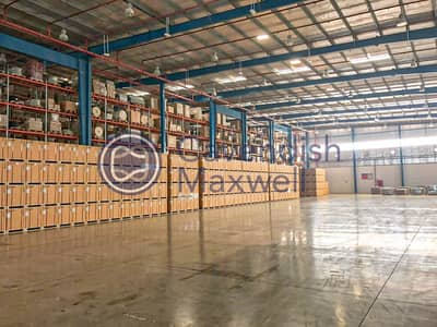 Warehouse for Rent in Dubai World Central, Dubai - Distribution Warehouse I 3PL I Racking Available