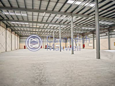 Warehouse for Rent in Dubai Industrial Park, Dubai - New Warehouse I 550 KW I Corporate Office - DIC