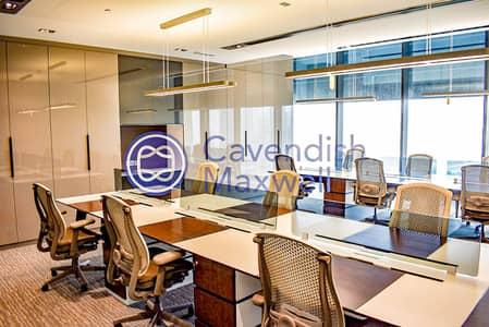 مکتب  للايجار في مركز دبي المالي العالمي، دبي - Furnished | Partitioned | Index Tower