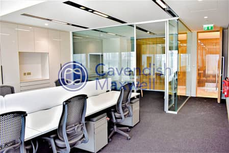 Office for Rent in DIFC, Dubai - Furnished | Partitioned | Index Tower