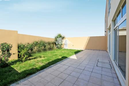 5 Bedroom Villa Compound for Sale in Abu Dhabi Gate City (Officers City), Abu Dhabi - Front Garden