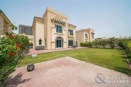 5 Bedroom Villa for Sale in Dubai Sports City, Dubai - Five Bed C1 Villa   Full Golf Course View
