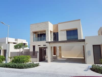 5 Bedroom Villa for Rent in Saadiyat Island, Abu Dhabi - Exquisite 5 BR villa I Pool I  Landscape