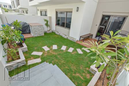 3 Bedroom Villa for Rent in Town Square, Dubai - Beautiful 3 BR with brand new garden and BBQ