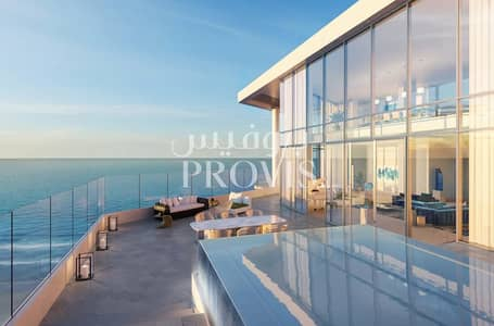 2 Bedroom Apartment for Sale in Saadiyat Island, Abu Dhabi - Full ocean view on this stunning property for you