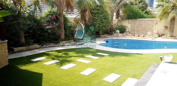 فیلا 5 غرفة نوم للايجار في السهول، دبي - Just Listed     Pvt. Pool & Jacuzzi  Upgraded  5 Br + M