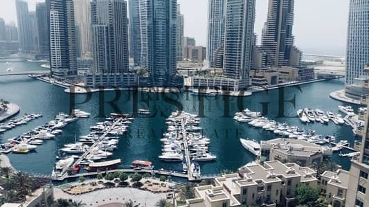 شقة 3 غرفة نوم للايجار في دبي مارينا، دبي - Emerald Residence Dubai Marina View