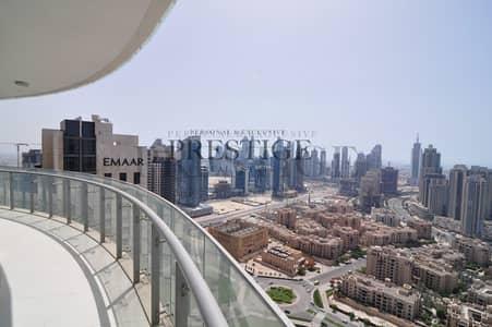 فلیٹ 2 غرفة نوم للايجار في وسط مدينة دبي، دبي - Burj & Fountain View I High Floor I Multiple Ceques