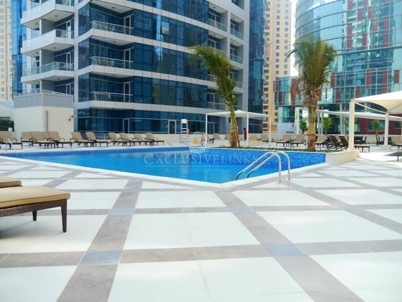 10 Furnished 3 bedroom + maids in Bay Central West