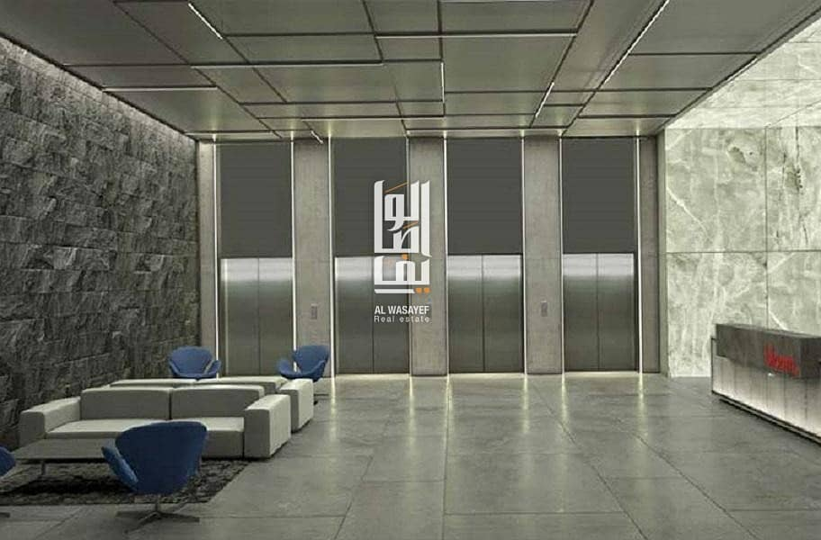 2 Studio unit in JVC   Palm Jumeirah view