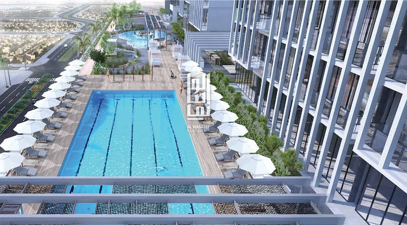10 Studio unit in JVC   Palm Jumeirah view