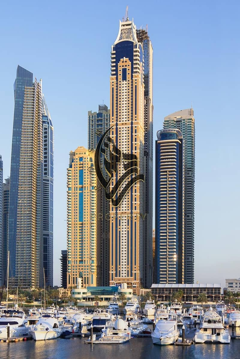 10 Luxurious 2 bdr apartment | Grest location | Dubai Marina