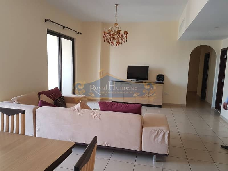 2 3 BR+M in Rimal 6 with Partial Sea