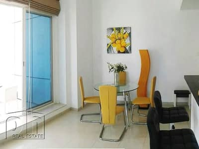Large fully furnished 1 bedroom with great sea view