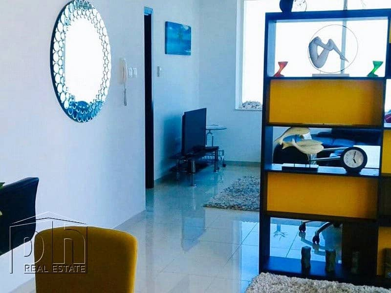 2 Large fully furnished 1 bedroom with great sea view
