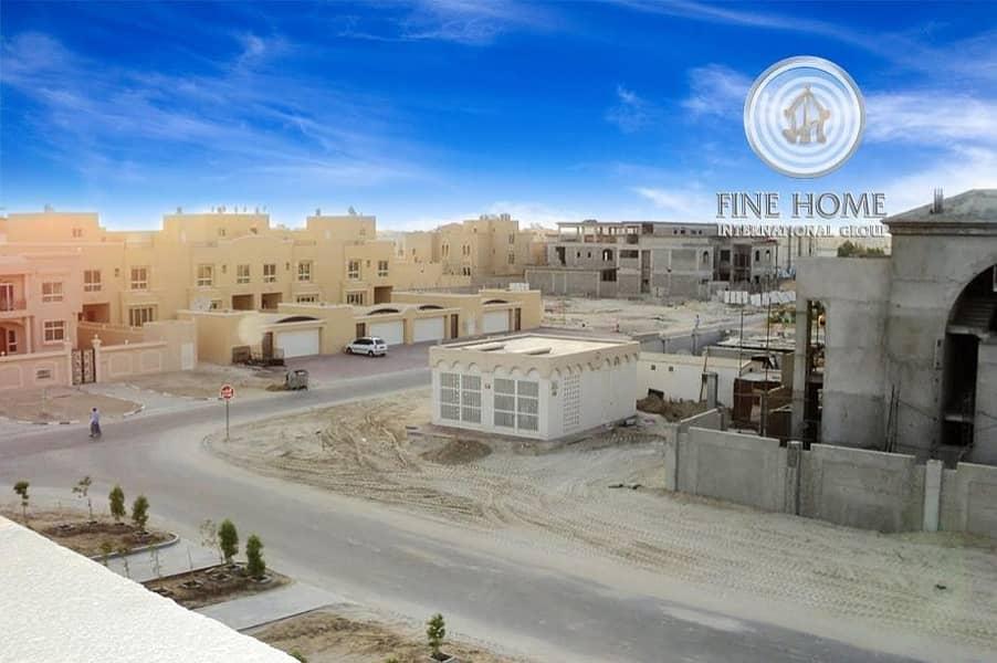 2 ?Amazing 4 Villas Compound in khalifa City