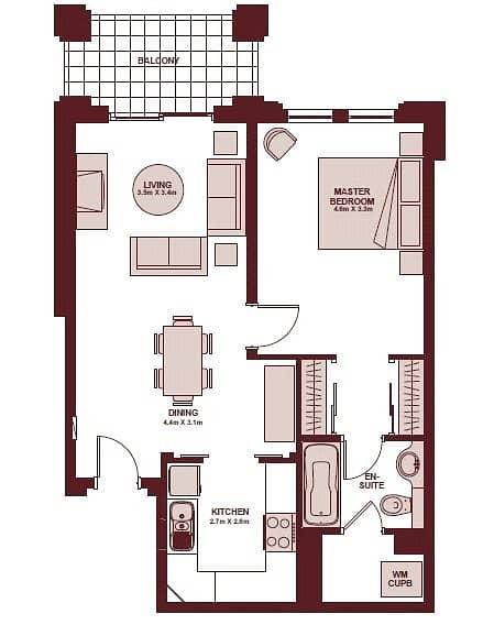 10 Yansoon 2 | One Bedroom | Community View