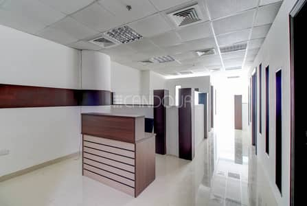 مکتب  للايجار في الخليج التجاري، دبي - Impeccable Office | Ready to Move in | Near Metro