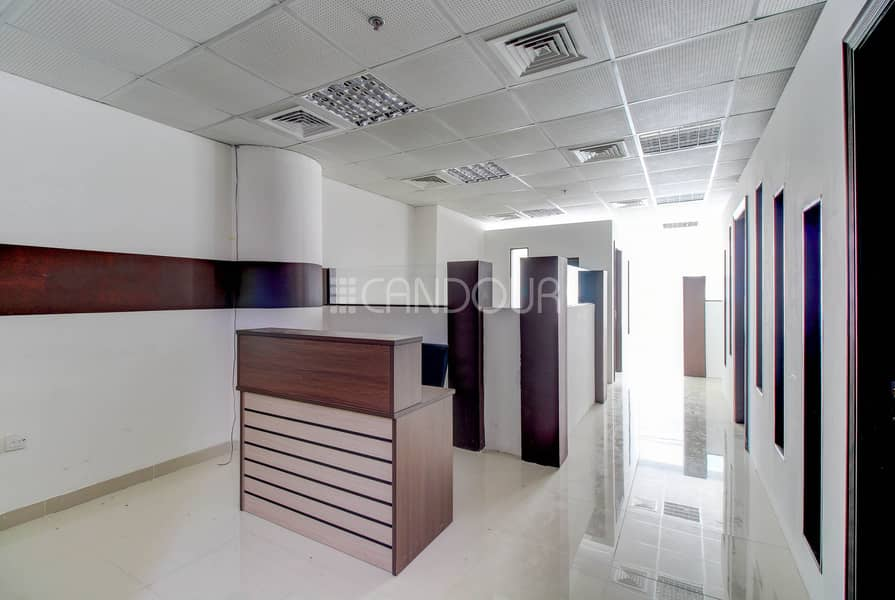 Impeccable Office | Ready to Move in | Near Metro