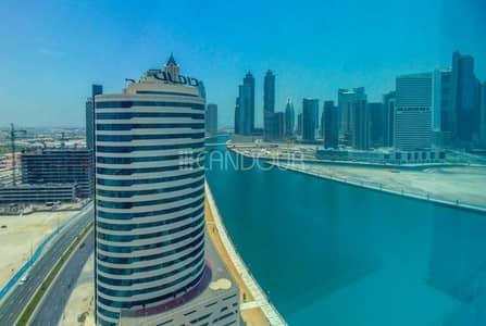 مکتب  للايجار في الخليج التجاري، دبي - Ready to Move in   Canal Views   Fitted Office