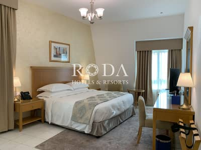 3 Bedroom Hotel Apartment for Rent in Downtown Dubai, Dubai - Maid's room|Onsite Parking| Free Wi-Fi