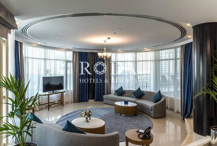 4 Bedroom Flat for Rent in Downtown Dubai, Dubai - No Commission| Burj Khalifa View|Private Swimming Pool