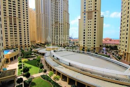 فلیٹ 3 غرفة نوم للبيع في مساكن شاطئ جميرا (JBR)، دبي - Vacant I Dubai Eye and Community View I 3BED