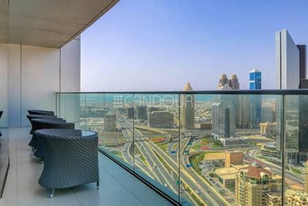 شقة فندقية 4 غرفة نوم للايجار في وسط مدينة دبي، دبي - Serviced | Furnished | Spacious 2BR w/Maids Room