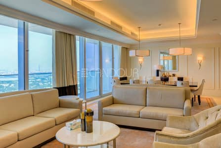 4 Bedroom Hotel Apartment for Rent in Downtown Dubai, Dubai - Serviced | Furnished | Spacious 2BR w/Maids Room
