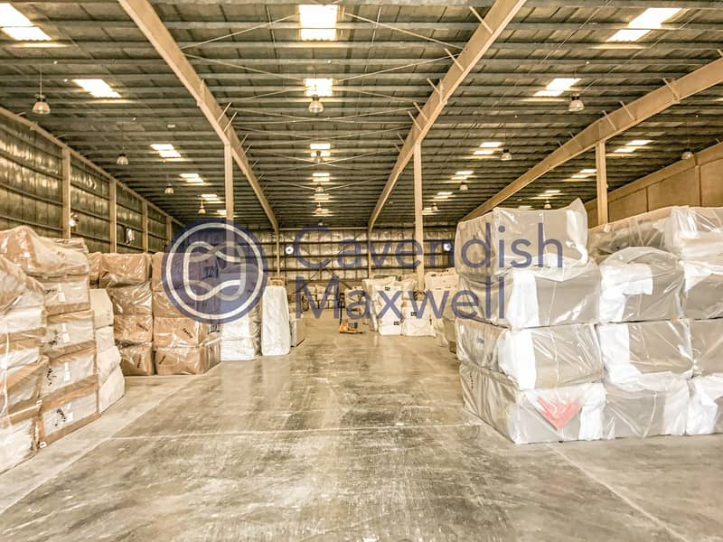 11 Logistics Facility With Covered Loading Platform