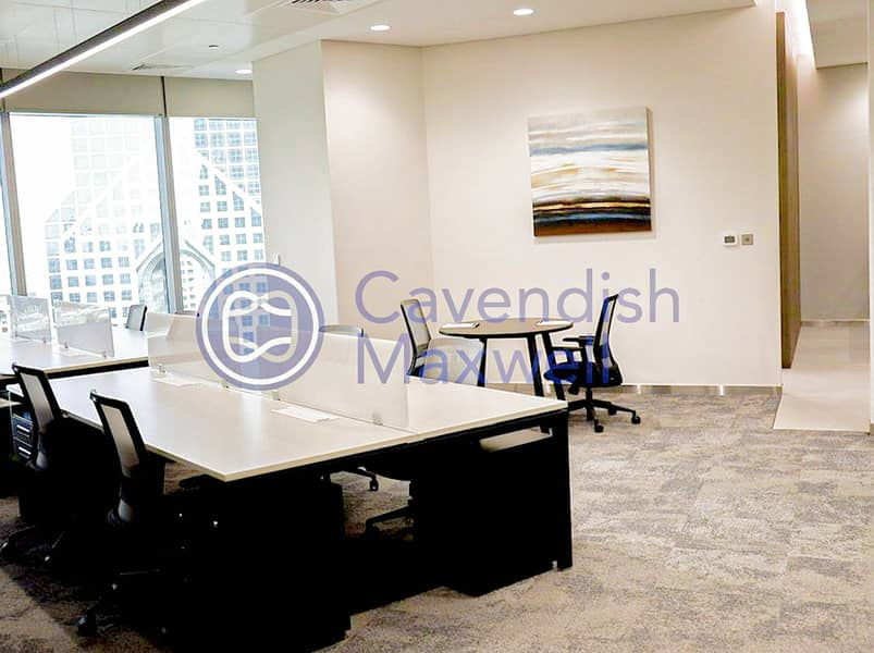 2 Furnished | Partitioned | Grade A Tower