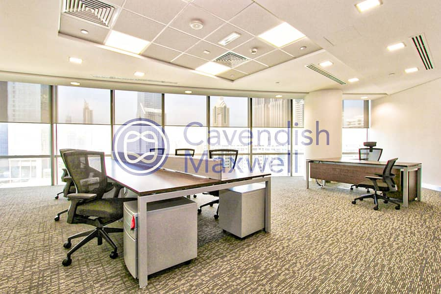 10 Full Furnished | Serviced Offices