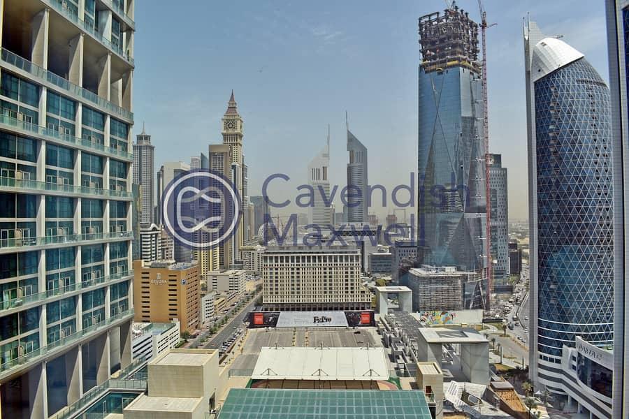 10 Paritioned | High Floor | Burj View