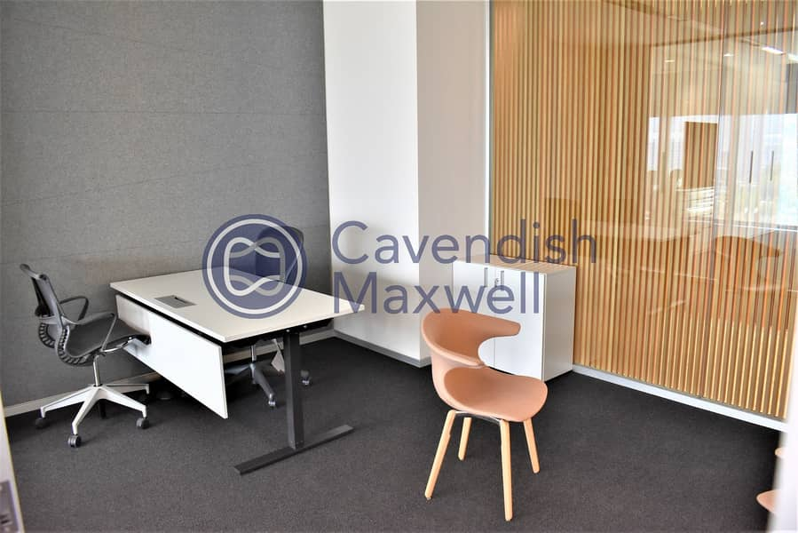 10 Furnished | Partitioned | Index Tower