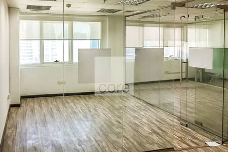 Office for Sale in Jumeirah Lake Towers (JLT), Dubai - Fitted Office | High Floor | Parking