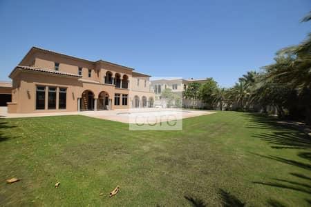 فیلا 5 غرفة نوم للايجار في جزيرة السعديات، أبوظبي - Golf Course View | Private Pool and Garden