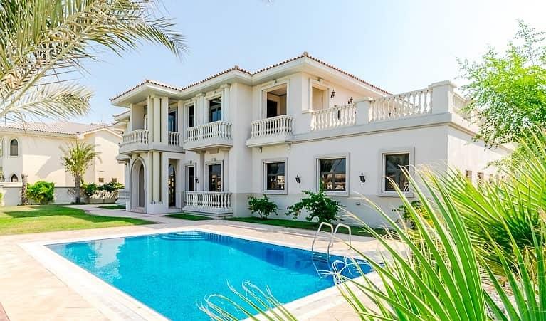 The Luxurious | Elite Class 6 Bedroom Signature Villa | Beautiful Open View | Palm Jumeirah