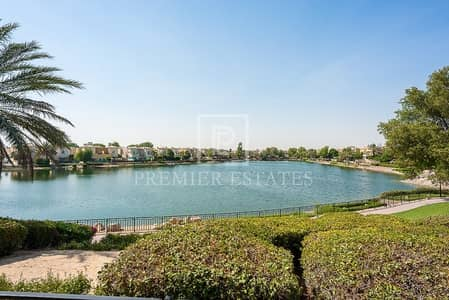 3 Bedroom Villa for Sale in Arabian Ranches, Dubai - Lake facing - Immaculate 3BR plus Study plus Maids
