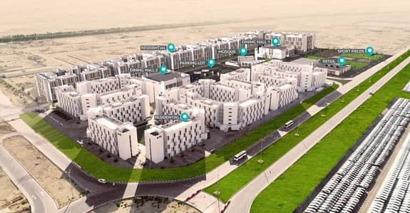 Labour Camp for Rent in Dubai World Central, Dubai - NO COMMISSION I Staff Accommodation buildings for Lease In Dubai South  I AED 550*/Person